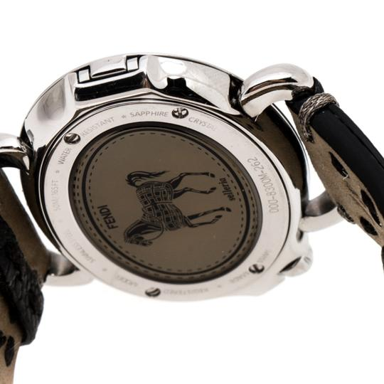 Fendi Silver White Stainless Steel Selleria 8300M Women's Wristwatch 40 mm Image 6