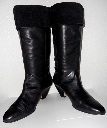 BRAZILIAN Quality Leather Sexy Style Super Comfortable BLACK Boots Image 1