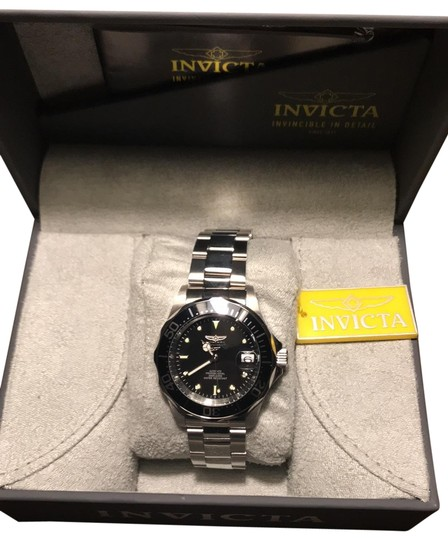 Preload https://img-static.tradesy.com/item/26389710/invicta-black-and-stainless-steel-professional-watch-0-2-540-540.jpg