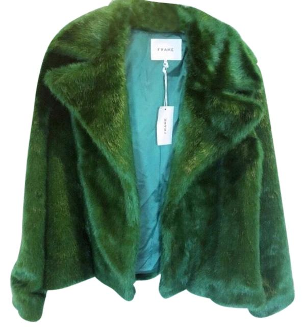 Preload https://img-static.tradesy.com/item/26389739/frame-green-eden-coat-size-2-xs-0-2-650-650.jpg