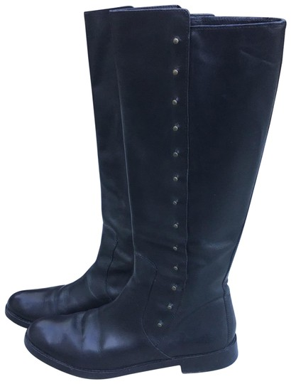 Preload https://img-static.tradesy.com/item/26389766/cole-haan-black-leather-knee-high-studded-bootsbooties-size-us-8-regular-m-b-0-2-540-540.jpg