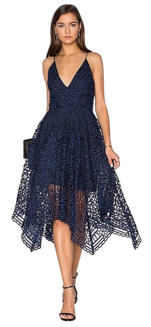 Preload https://img-static.tradesy.com/item/26389780/nicholas-navy-blue-floral-lace-geo-mid-length-cocktail-dress-size-4-s-0-2-650-650.jpg
