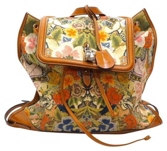 Preload https://img-static.tradesy.com/item/26389790/alexander-mcqueen-floral-printed-skull-padlock-multicolor-canvas-and-leather-backpack-0-2-540-540.jpg