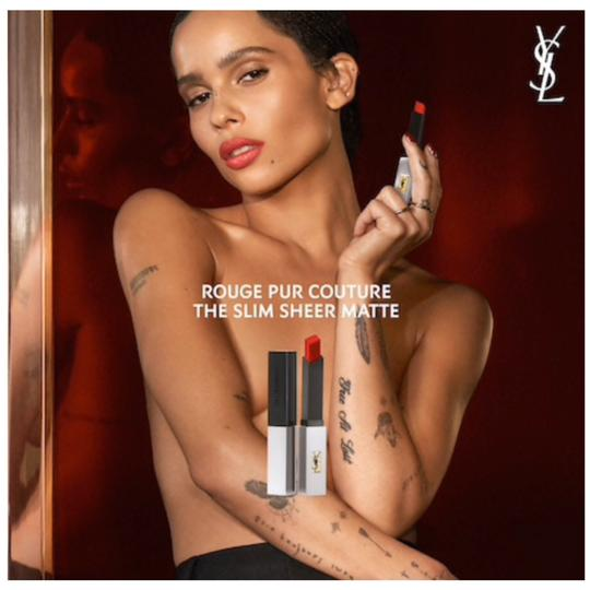 Yves Saint Laurent YSL Rouge Pur Couture The Slim Sheer Matte Lipstick Image 3