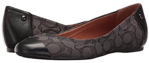 Coach black smoke Flats
