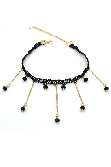 Preload https://img-static.tradesy.com/item/26389846/black-weave-water-droplets-choker-necklace-0-0-540-540.jpg