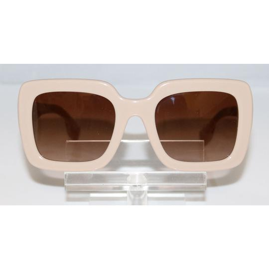 Burberry New Authentic Burberry BE 4284 3793/13 Beige/Brown Shaded Sunglasses Image 1