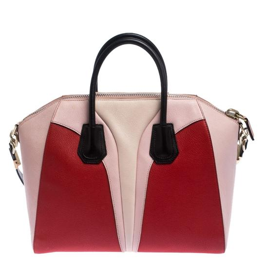 Givenchy Leather Canvas Satchel in Multicolor Image 1