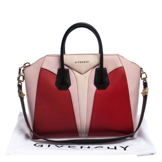 Givenchy Leather Canvas Satchel in Multicolor Image 11
