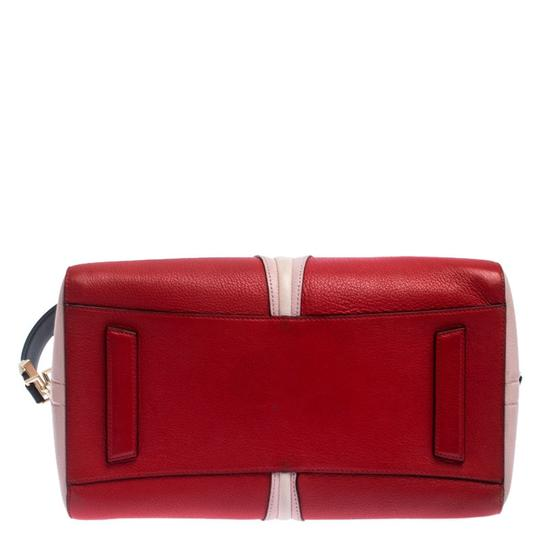 Givenchy Leather Canvas Satchel in Multicolor Image 3