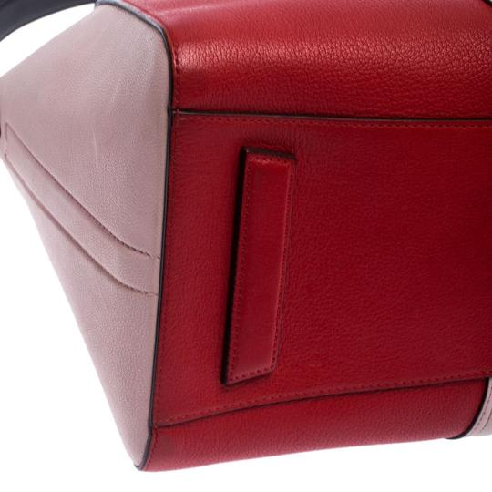 Givenchy Leather Canvas Satchel in Multicolor Image 5