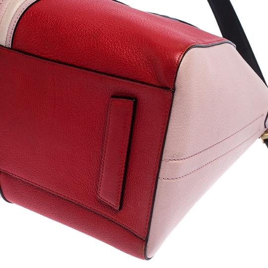 Givenchy Leather Canvas Satchel in Multicolor Image 6