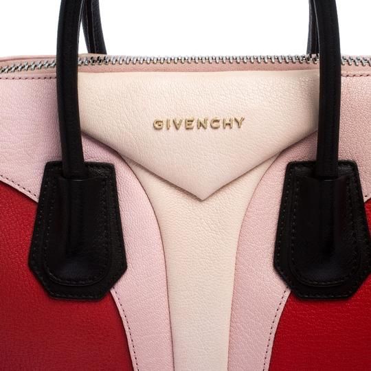 Givenchy Leather Canvas Satchel in Multicolor Image 7