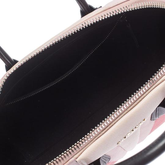 Givenchy Leather Canvas Satchel in Multicolor Image 9