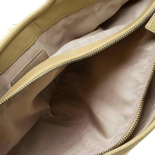 Givenchy Leather Front Flap Logo Tote in Yellow Image 8