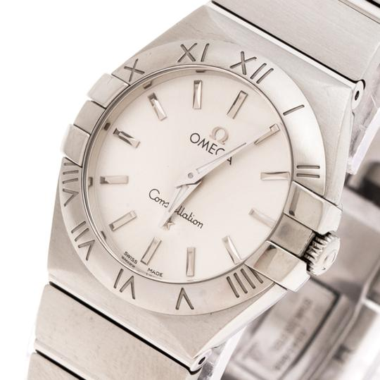 Omega Silver Stainless Constellation 123.10.27.60.02.001 Wristwatch 27 mm Image 1
