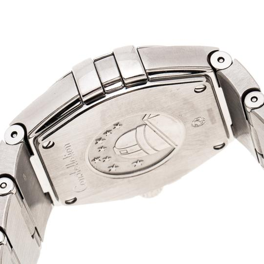 Omega Silver Stainless Constellation 123.10.27.60.02.001 Wristwatch 27 mm Image 3