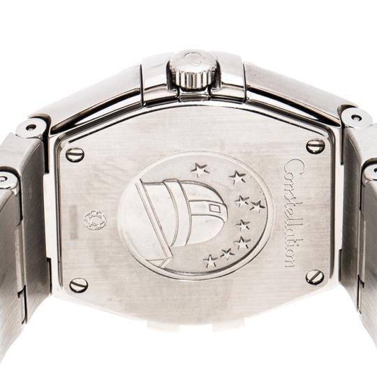 Omega Silver Stainless Constellation 123.10.27.60.02.001 Wristwatch 27 mm Image 4