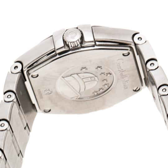 Omega Silver Stainless Constellation 123.10.27.60.02.001 Wristwatch 27 mm Image 5
