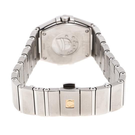 Omega Silver Stainless Constellation 123.10.27.60.02.001 Wristwatch 27 mm Image 6