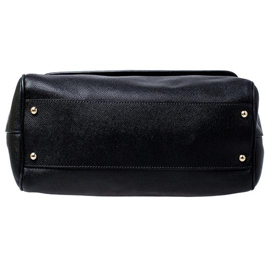 Dolce&Gabbana Leather Fabric Shoulder Bag Image 3