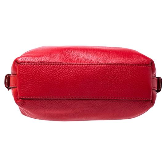 Givenchy Leather Fabric Satchel in Red Image 3