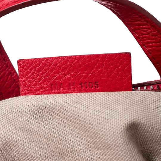 Givenchy Leather Fabric Satchel in Red Image 8