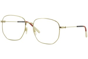 Gucci Gucci Women's Eyeglasses Urban GG0396O GG/0396 002 Gold Optical Frame