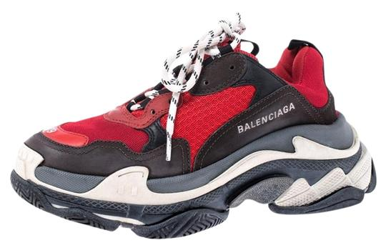 Preload https://img-static.tradesy.com/item/26389943/balenciaga-multicolor-mesh-nubuck-and-leather-triple-s-platform-sneakers-size-eu-39-approx-us-9-regu-0-2-540-540.jpg