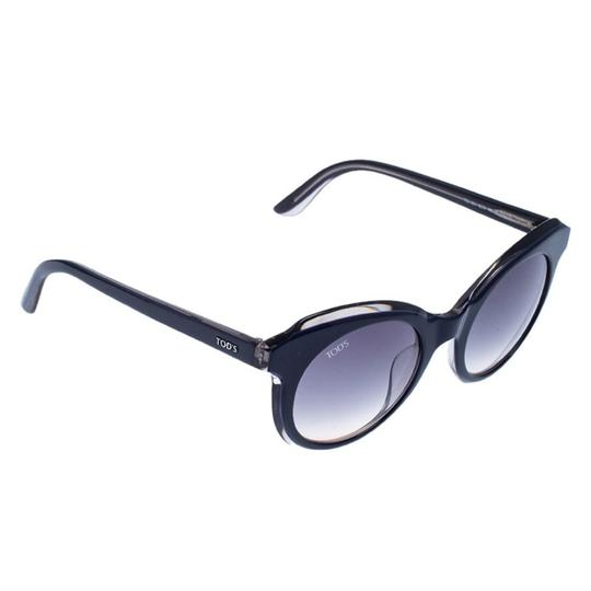 Preload https://img-static.tradesy.com/item/26389953/tod-s-blue-dark-blue-gradient-to161-cat-eye-sunglasses-0-0-540-540.jpg