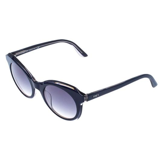 Tod's Tod's Dark Blue/ Blue Gradient TO161 Cat Eye Sunglasses Image 2