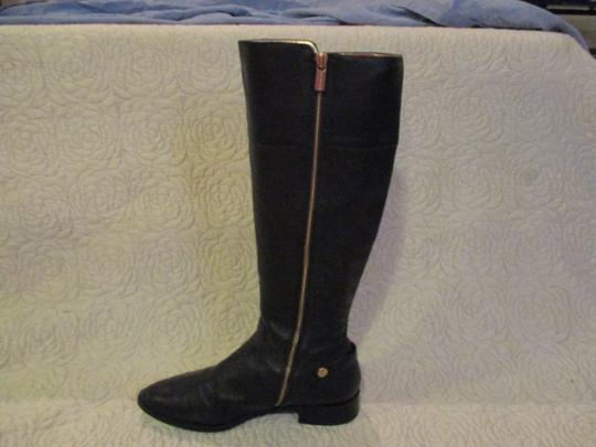 Michael Kors black with gold Boots Image 2