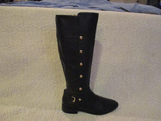 Michael Kors black with gold Boots Image 4