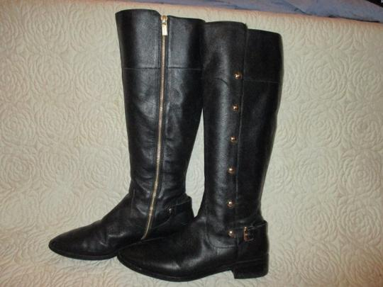 Michael Kors black with gold Boots Image 8
