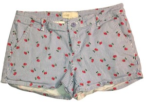 BeBop Mini/Short Shorts Blue, White and Red