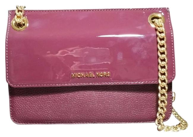 Item - Bedford Whitney Daniel Chain Convertible Red Patent Leather Shoulder Bag