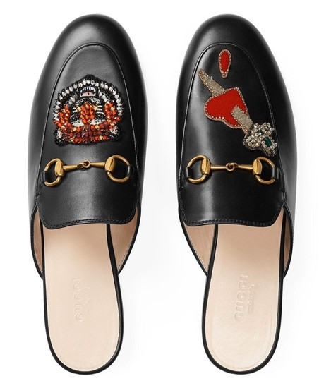 Preload https://img-static.tradesy.com/item/26390470/gucci-black-princetown-leather-red-heart-tiger-crystal-loafer-slipper-flats-mulesslides-size-eu-38-a-0-0-540-540.jpg