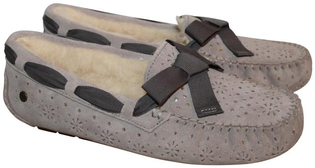 Item - Gray Dakota Perf Suede Metallic Shearling Slippers Flats Size US 11 Regular (M, B)