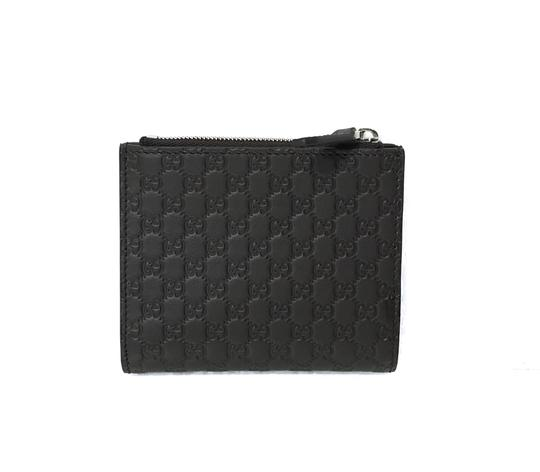 Gucci NEW GUCCI 544475 Men's Leather Microguccissima Folding Wallet, Brown Image 3