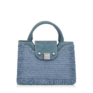 Jimmy Choo Handbag Tophandle Luxury Satchel in Blue