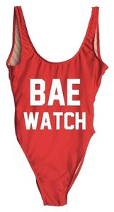 PRIVATE PARTY Private Party Bae Watch One Piece Swimsuit