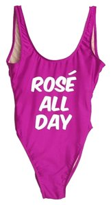 PRIVATE PARTY Private Party Rose All Day One Piece Swimsuit