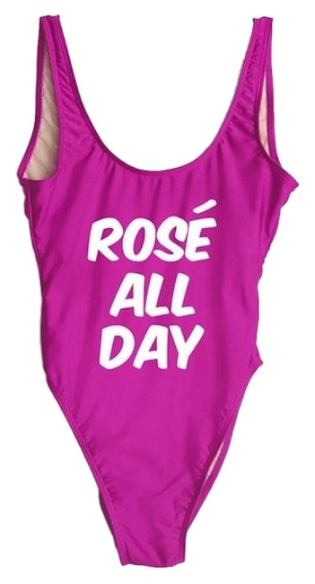 Item - Pink Rose All Day Swimsuit One-piece Bathing Suit Size 6 (S)
