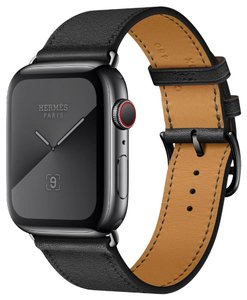 Hermes Space Black Stainless Steel Limited Edition Apple Watch