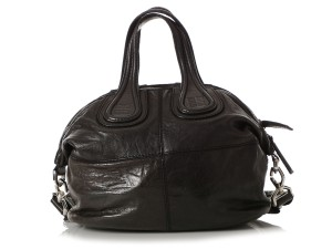 Givenchy Gv.q1014.06 Silver Hardware Satchel in Black
