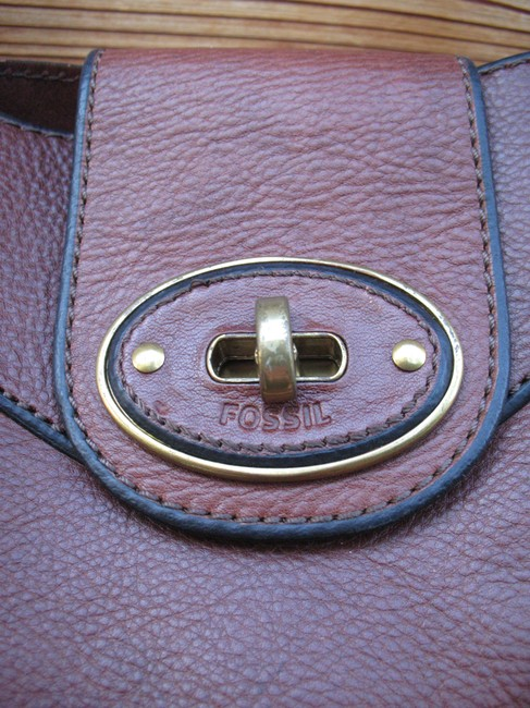 Fossil Reissue Weekender Rose Gold Leather Tote Fossil Reissue Weekender Rose Gold Leather Tote Image 9
