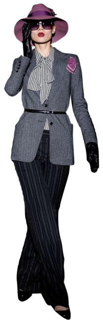 Item - New 90th Anniversary Collection Wool Runway 2011 Pants Size 6 (S, 28)