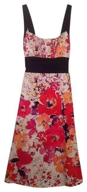 Item - Cotton Girly Knee Length Formal Dress Size 6 (S)