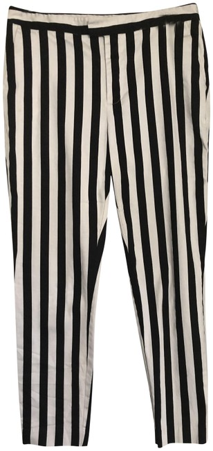 Item - Black White And Comfy. Pants Size 12 (L, 32, 33)