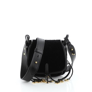 Prada Velvet W Calfskin Shoulder Bag